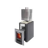 Для установки в бане: выбираем дровяную печь оснащенную баком для нагрева воды
